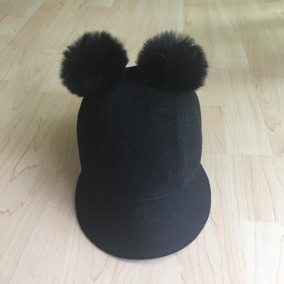 5792bdafc5d1f Accessories - Cute double Pom Pom hat!
